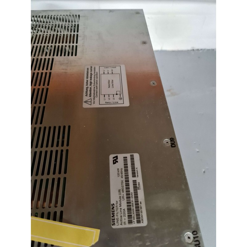 Siemens Line Filter for Active Line Module (I/R) 6SL3000-0BE31-2AA0